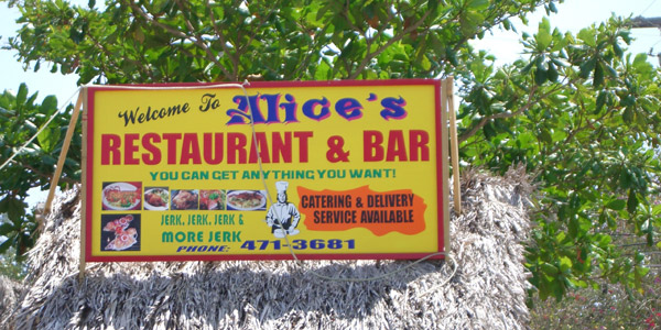 Alices Restaurant - Negril Jamaica