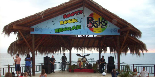 World Famous Ricks Cafe - Negril Jamaica