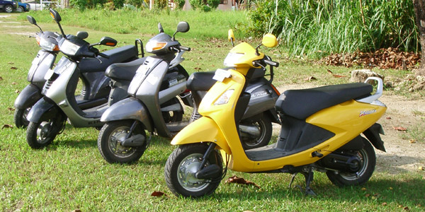 West Coast Scooter Rental in Negril Jamaica