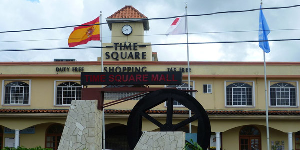 Time Square Shopping in Negril Jamaica